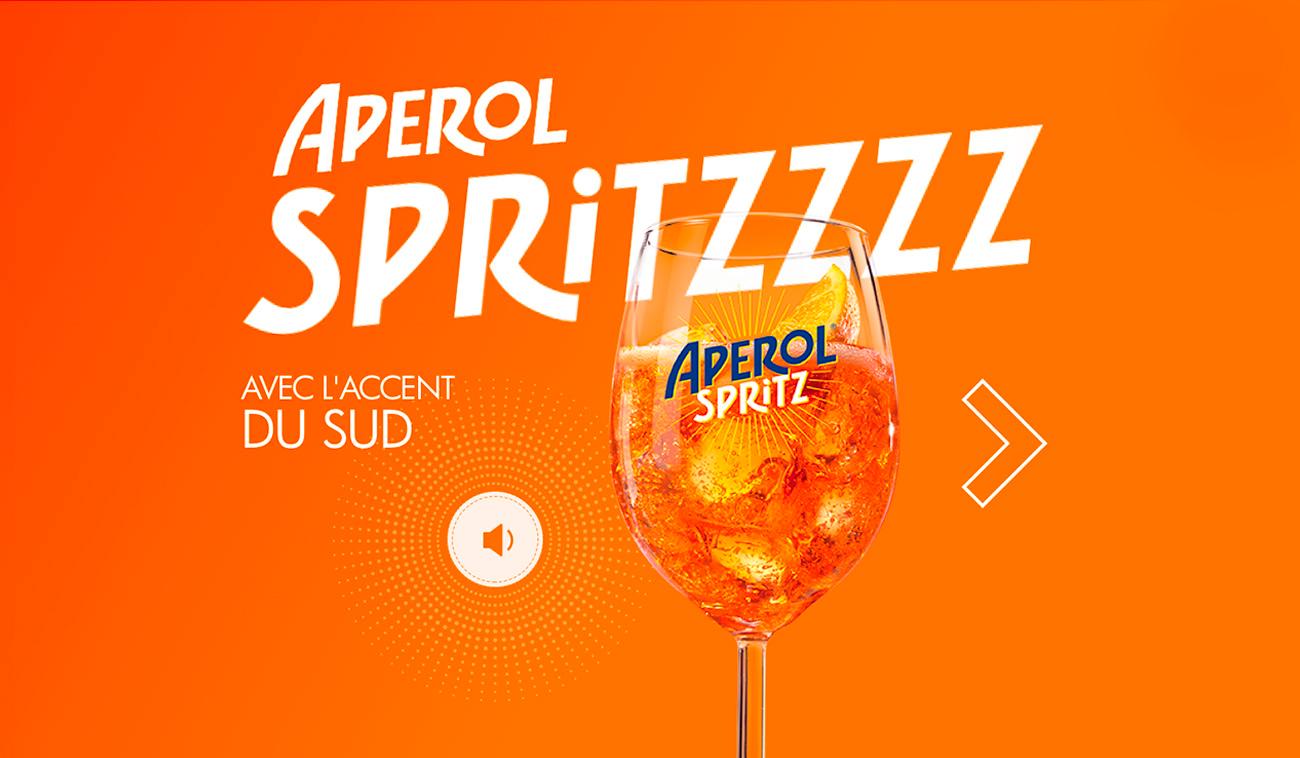 Scénarisation des insights d'Aperol Spritz par tequilarapido