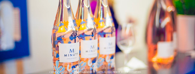 Stratégie digitale et editoriale corporate pour Chateau Minuty par tequilarapido
