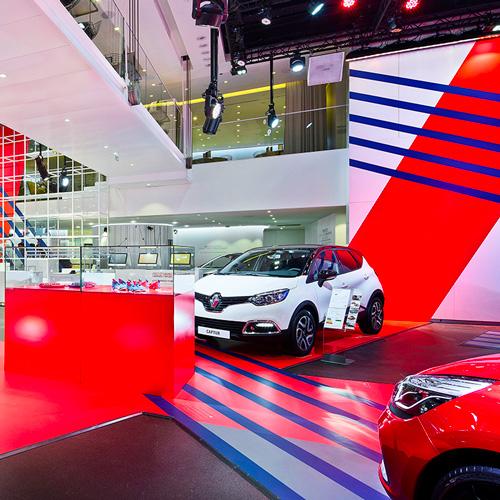 Atelier Renault pour le Groupe Renault par tequilarapido