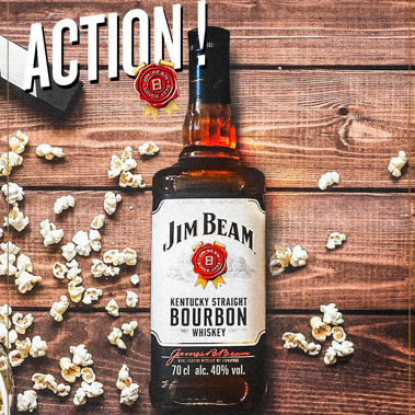 Strategie de conception et annimation social media JimBeam par tequilarapido
