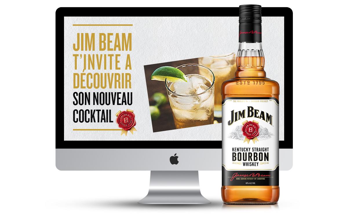 Communication sur les réseaux sociaux Jim Beam par tequilarapido